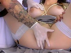 Treatment of sexy goddess Mistress Trinity