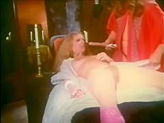 Truly bizarre vintage pegging scene from Rites of Uranus (1975)