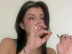 Hard crush before sex