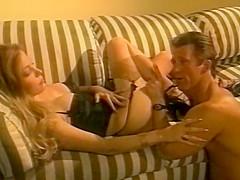 Moana Pozzi hardcore scene in Manbait (1991)