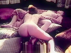 Stepdaughter Licks Stepmoms Pussy to Orgasm (1970s Vintage)