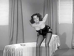 Blaze Starr Stripping and Teasing (1950s Vintage)