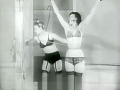 Teen Friends Playing with Bondage (1950s Vintage)