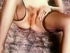 WHEELS ON FIRE - vintage 60's hairy tease stockings