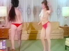 STRIPPING HOUSEWIVES - vintage 60's cuties dance & strip