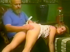 panty wedgie spanking