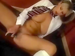Adele Stephens Fucks Herself With A Dildo