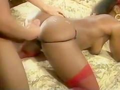 Excellent porn video Interracial exclusive , check it