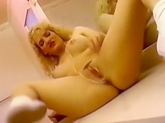 Kimberly Kyle gets filthy with her fuck toys!