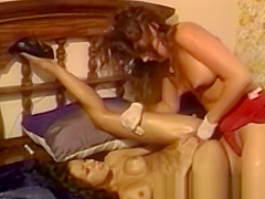Beautiful lesbians fingering asses and pussies with power