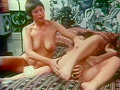 Sexy Lesbians Get Down Together