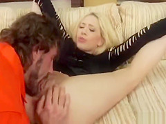 Blonde Sister Allows Brother Sex