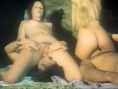 Great long orgy with Brigitte Lahaie