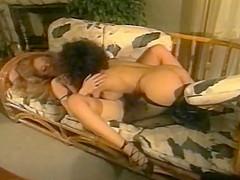 Moana Pozzi in lesbian scene - Manbait (1991)