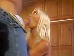 Wife Fucks Muscular Guy in front of Husband