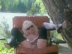 Estonian legend Kristina Bellanova fucking & sucking boyfriend John Garager
