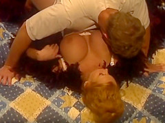 Big tits mom lets son way too close