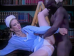 Daniella Schiffer | White maid fucked by a horny black servant