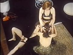 Bisexual Threesome Vintage XXX