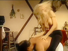 Hank Armstrong dominated by Shelby Stevens vintage fetish