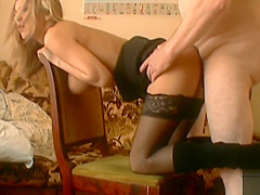 Sara Nice fucked by an old ugly man