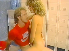 Karen Summer in the locker room - great ass - vintage