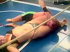 Mixed ring wrestling. Classic match 1