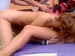 Lovely teen perfection blows fuck stick