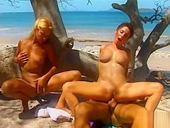 Tropicanal Threesome with Delfynn Delage and Katy