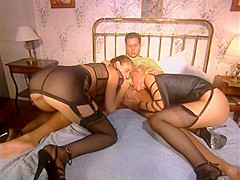 Debbie Ronalds & Melody Kord | High Heels & Black Stockings