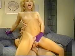 Young Nina Hartley fucked hard