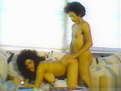 the retro porn brings us an ebony queen fucking