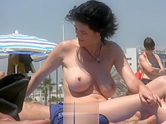 beach busty french vintage