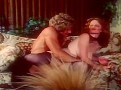 Lisa De Leeuw And Randy West Fuck 70's Style In Retro Porno