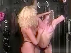 Nips clamped 90s lesbian