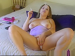 Smoking Dirty Tease on My Bed - ALHANA WINTER - RottenStar Vintage Clip