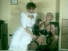 Vintage Bride And Dom Toy With Eachother