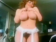 Vintage Solo Scene Of Kitten Natividad Masturbating