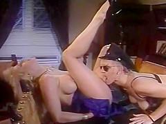 Classic Blonde Leasbians Eating Ass