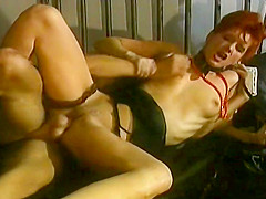Vintage Eva Falk And Zenza Raggi Fuck While Being Watched