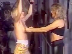 Lesbian sub worships her dominant mistress