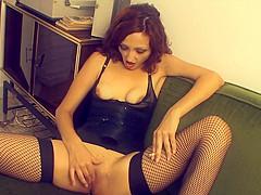 Justine Sade - ashtray pussy and heel fucking