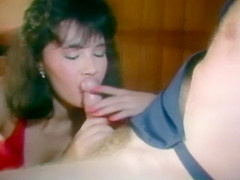 Paul Thomas Fucks Asian Whore, Cums on and then in Her Cunt