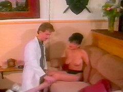 Nina DePonca and Tom Byron - Fade to Black 1988
