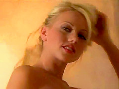 Shawna Lenee Touches her Entire Body