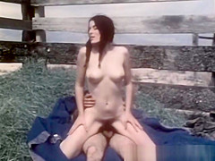 Lovely Vintage Couple Love To Fuck Outdoor