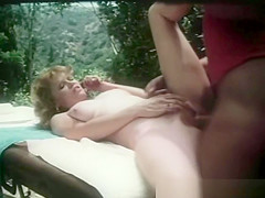 Vintage Red Head Gets A Massage And Then Fucked
