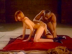 Vicca fucked by black monk