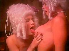 Vintage lesbo scene