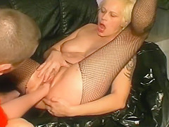 Skillful Piss Slut gets violently Fisted and Footed